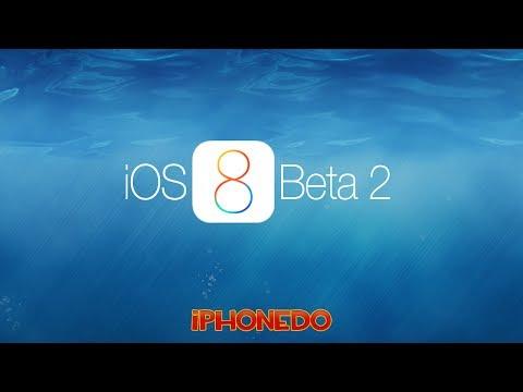 IOS 8 Beta 2 Incelemesi