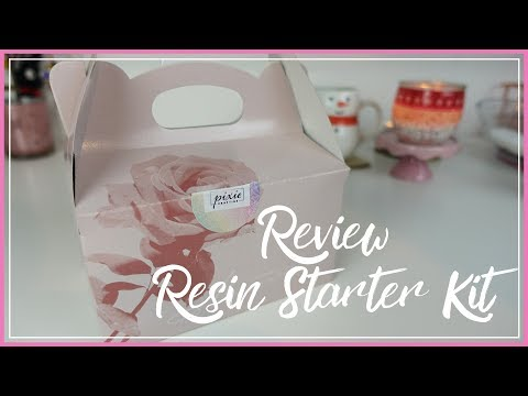 Unboxing RESIN STARTER KIT DELUXE | PIXIE CRAFTING | Review