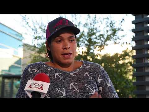 Amanda Nunes Interview at UFC 215 Media Day
