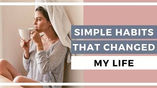 Here are 5 simple and healthy habits that will change your life! from practicing gratitude to meditation- these practices help you become the best ve...