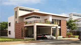 Cute Small Modern House 1000 Sft Budget of 10 Lakh | Elevation | Interiors | Design