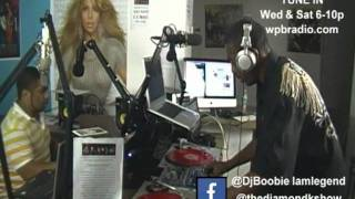 DJ Boobie 7oclock mix on The Diamond K Radio Show