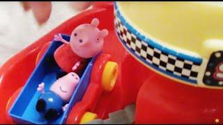 peppa pig Свинка Пеппа и ее семья, Паровозик Дедушки Свина
