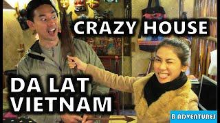 Da Lat: Silk Factory, Temple, Crazy House, Waterfall, Vietnam Ep10