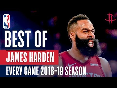 James Harden's Best Play From Every Game Of The 2018-19 Season