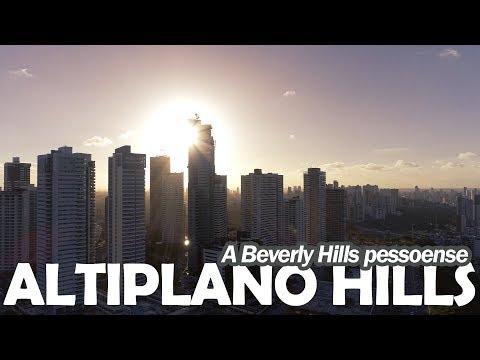 Altiplano Hills a Beverly Hills pessoense in 4K - João Pessoa - Paraíba