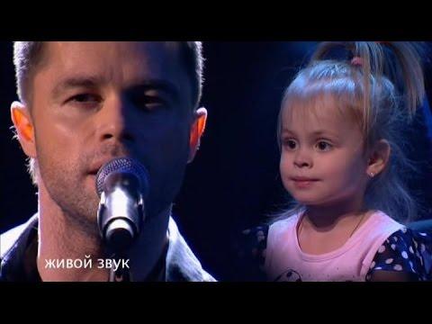Виталий Гогунский и дочка Милана