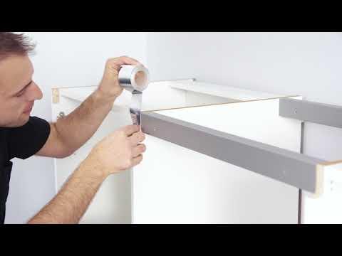 nobilia | Küchen | LINE N Montagestart Profilmontage