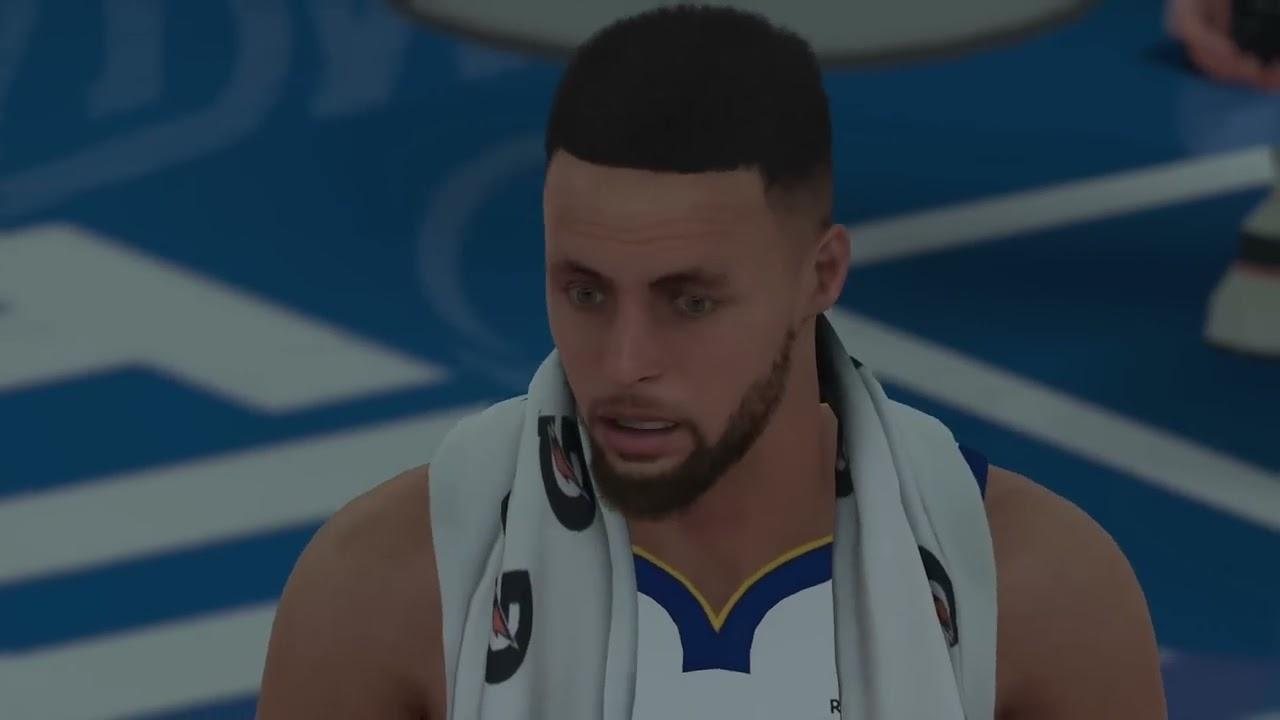 the latest ac238 09eaa NBA 2k18 - Oklahoma City Thunder vs Golden State Warriors | Carmelo Anthony  Traded to OKC