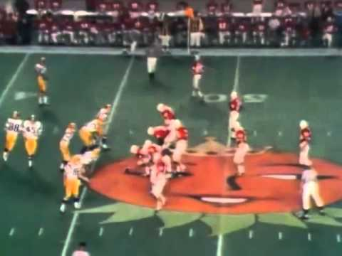 1971 Orange Bowl   The Nebraska Cornhuskers vs The LSU Tigers