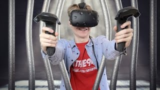 GETTING KIDNAPPED IN VIRTUAL REALITY | The Cabin: Escape the Room VR (HTC Vive Gameplay)