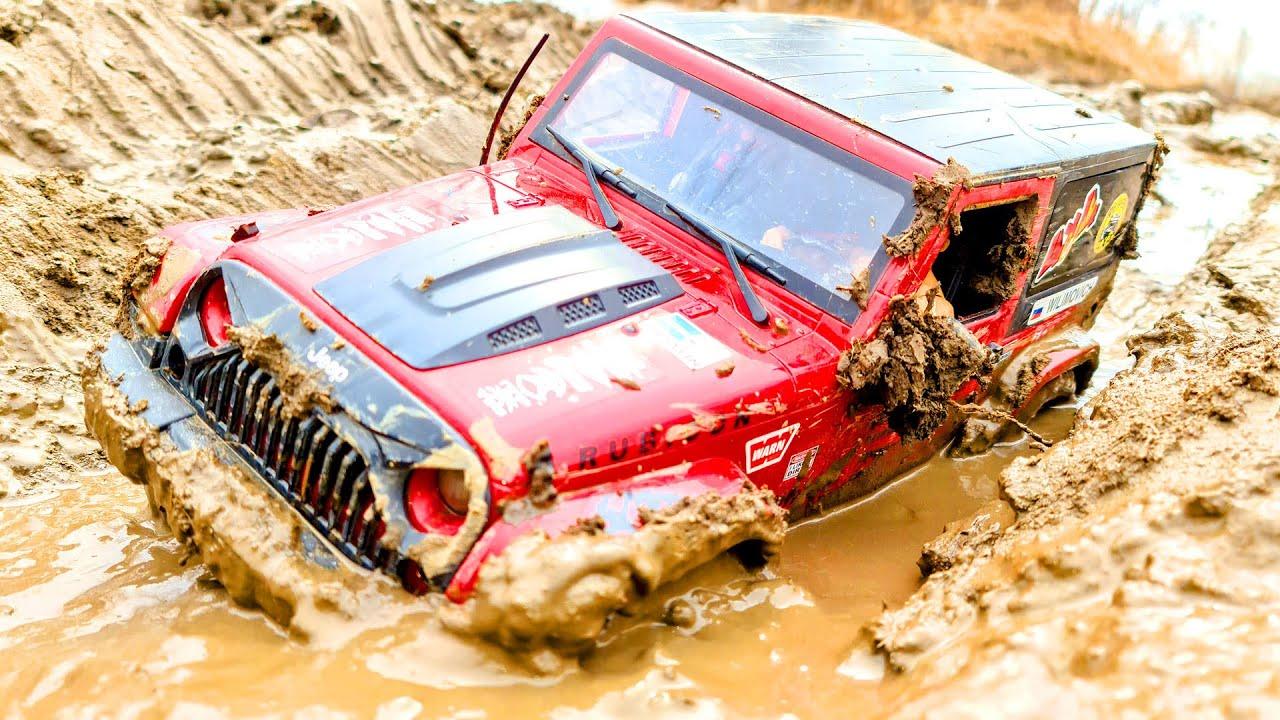 Cars Extreme MUD OFF Road 4х4 - Jeep Wrangler Rubicon VS Toyota FJ Cruiser — Wilimovich