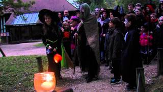 Halloween : Le château de Thoiry…  à faire peur …