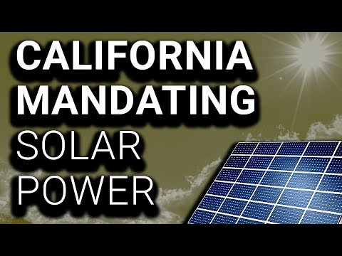 California 1st State to Mandate Solar Power on New Homes