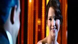 """THG Scene; """"Katniss Everdeen, the girl on fire!"""""""