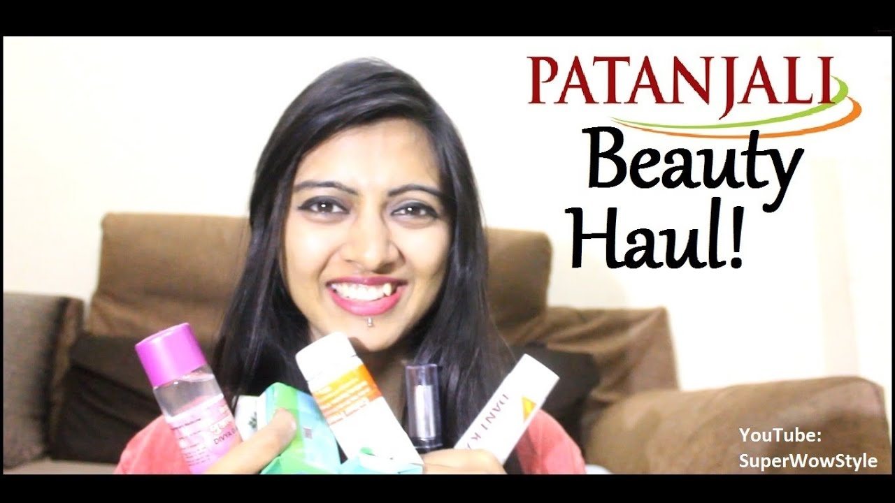 Part 2 - Patanjali Haul! _ HONEST Review _ (Beauty Products for Skin & Hair) | SuperWowStyle Prachi