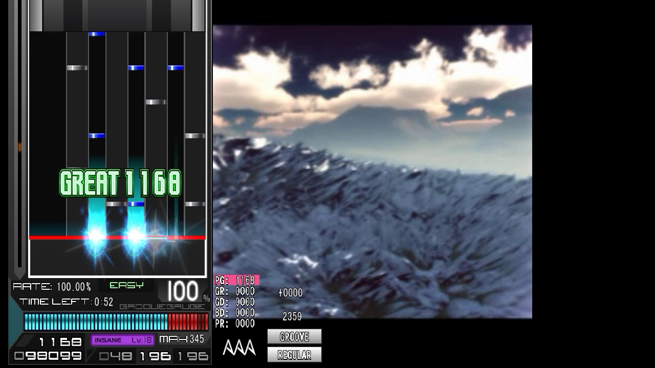 [BMS] ▼20 Aragami [PK Beam-Ω] AUTO PLAY