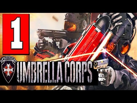 Resident Evil Umbrella Corps Gameplay Walkthrough Part 1 Full Game Lets Play Review PS4 PC