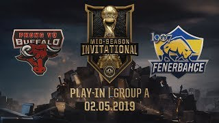 PVB vs FB [MSI 2019][02.05.2019][Group A][Play-in]