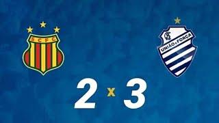 Sampaio Corrêa 2x3 CSA - Melhores Momentos / Série B 2018