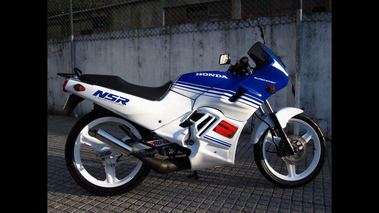 Honda Nsr 50 Youtube
