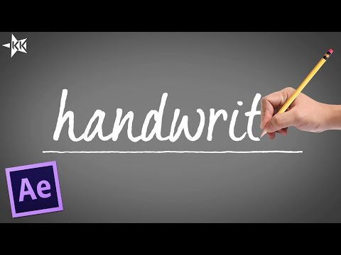 handwriting text effect
