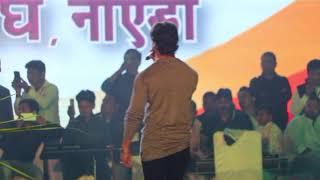 Khesari Lal Performing Live at 'Chhath Mahotsav 2018' | Ara Chapra Ke Ghat Nik Lagela |  Noida