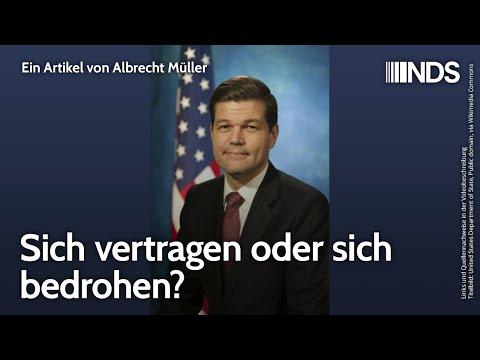 Sich vertragen oder sich bedrohen?   Albrecht Müller   NachDenkSeiten-Podcast   14.06.2021