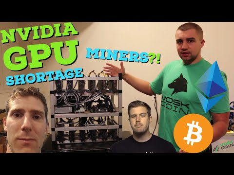 NVIDIA Shortage Due To CRYPTO MINERS?? - GPU Mining SUPER PROFITABLE?!