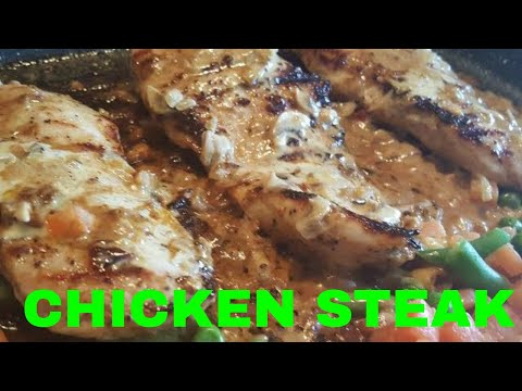 Steak | Chicken Steak Recipe | Homemade Steak
