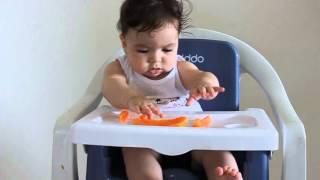 primeira experincia com o blw intro alimentar episdio 7