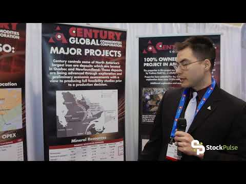 Century Global Commodities with Mining Engineer Brant Zeeman at the 2018 PDAC in Toranto