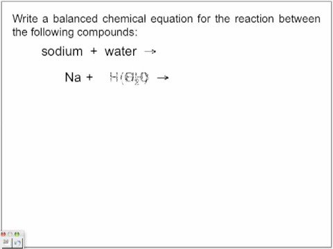 Single Displacement Reactions (with worked solutions & videos)