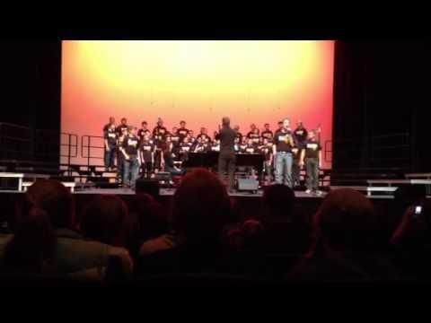 BAHS Men's Choir 10/14/13 Bright Lights, Big City