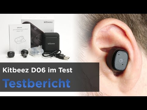 Kitbeez D06 Bluetooth InEar-Kopfhörer (True-Wireless) Mit Ladebox Im Test