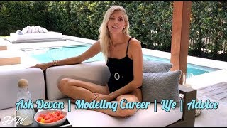 Ask Devon | Modeling Career | My Fiancé | Advice To Models