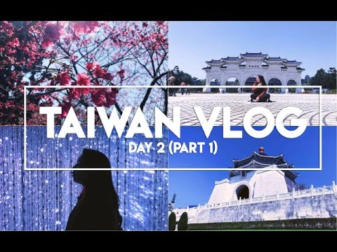 TAIWAN VLOG: Day 2 (Part 1) | Longshan Temple, Chiang Kai-Sh
