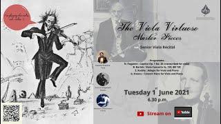 """The Viola Virtuoso Master Pieces"" Senior Viola Recital"