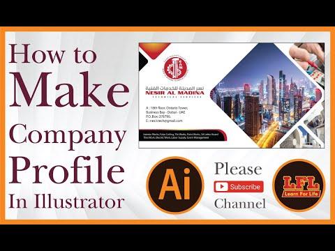 Create a Corporate Brochure in Adobe InDesign.