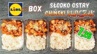 Prosty CHIŃSKI Kurczak z RYŻEM - LunchBOX na 4 dni - 888 kcal