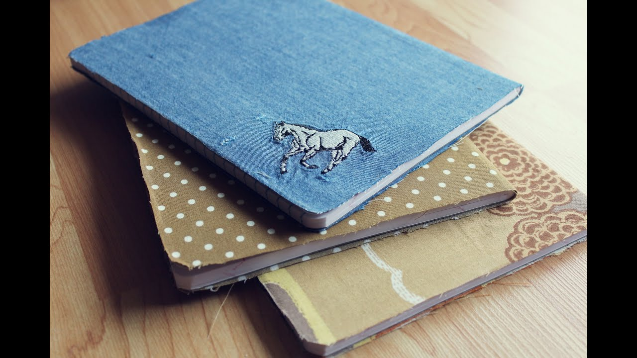 Diy Fabric Covered Composition Book : Diy fabric covered gratitude journal youtube