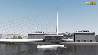Office 25 Architects - Amsterdam Iconic Pedestrian Bridge Competition