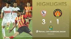 Zamalek SC 3-1 Espérance de Tunis    HIGHLIGHTS   Quarter-Final First Leg   TotalCAFCL