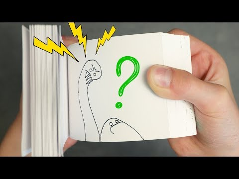 10-year-old TAKES OVER my Channel - The BLOB Flipbook