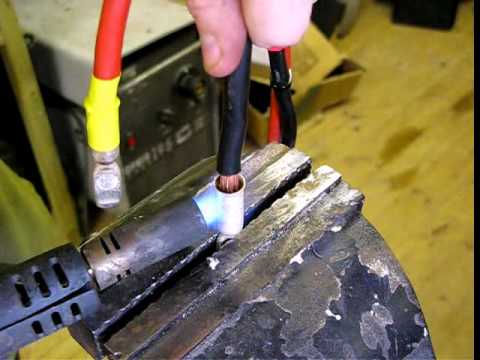 How To Make Up Anderson Plug Jump Leads For A Land Rover