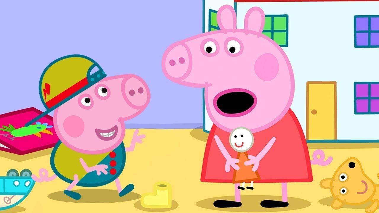 Peppa Pig in Hindi - Tidying Up - Saaf Karna - हिंदी Kahaniya - Hindi Cartoons for Kids