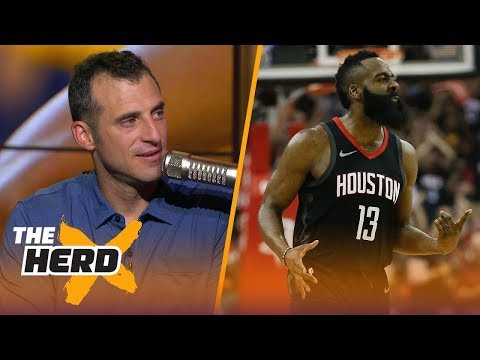 Doug Gottlieb on Rockets Game 1 loss, Draymond's antics, Durant and Harden | NBA | THE HERD