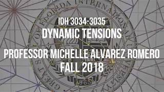 IDH 3034-3035: Dynamic Tensions