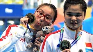 Funny Fu Yuanhui 傅园慧 Olympic Swimmer