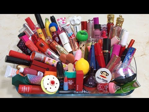 Mixing 100+ Lipsticks And Makeup Dissimilar Into Glossy Slime ! Most Satisfying Slime Videos